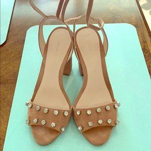 Loeffler Randall heels 7.5 blush